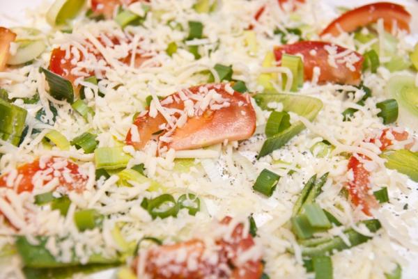 DSC 9778  Elsässer Flammkuchen // veg. Pizza